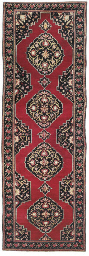 An antique Karabagh runner
