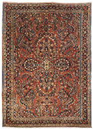 A fine Sarouk rug