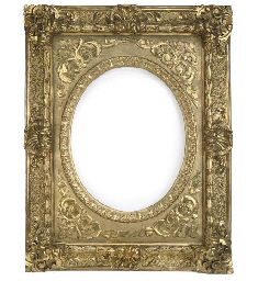 AN ITALIAN GILT-WOOD PICTURE F