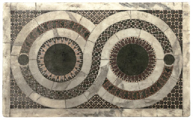 AN INLAID SPECIMEN MARBLE TABL