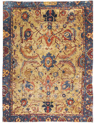 A PART-SILK HERIZ CARPET