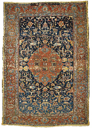 A LARGE BAKSHAISH CARPET
