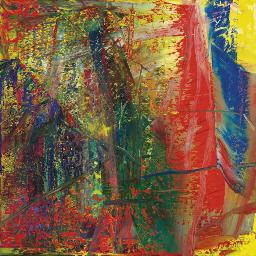 Abstraktes Bild (610-4)