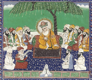 GURU NANEK AND THE TEN GURUS,