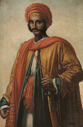 PORTRAIT OF A NORTH AFRICAN, S
