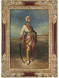 PORTRAIT OF THE MAHARAJAH DULE