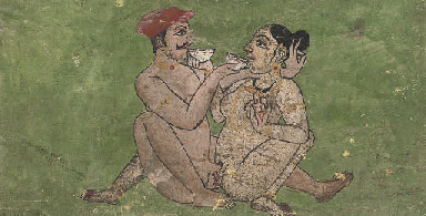 THREE EROTIC SCENES, INDIA, 19
