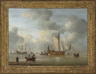 An English Royal Yacht standin