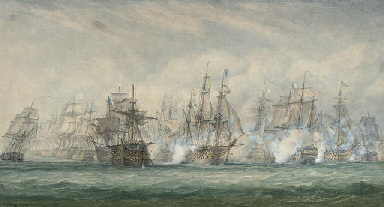 The battle of the Saintes, 12t