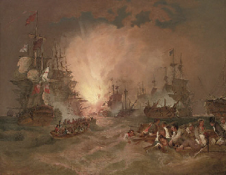 The battle of the Nile, 1st Au