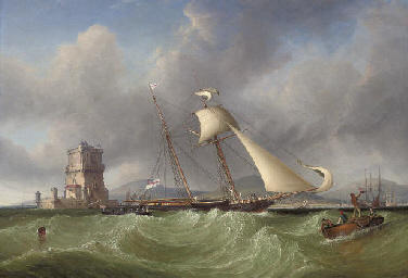 Lord Belfast's yacht Emily hov