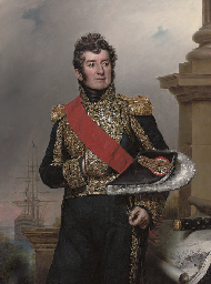 Portrait of Comte Laurent-Jean