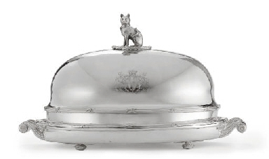 A GEORGE IV SILVER AND SHEFFIE