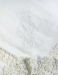 QUEEN MARY'S TEA CLOTH A TEA C
