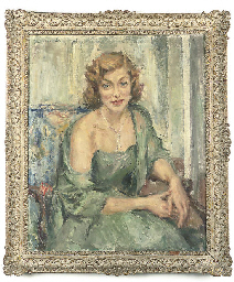 Portrait of the Hon. Mrs. Ange