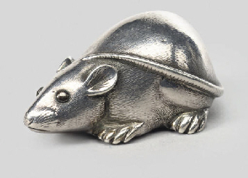 A model of a mouse, late 19th