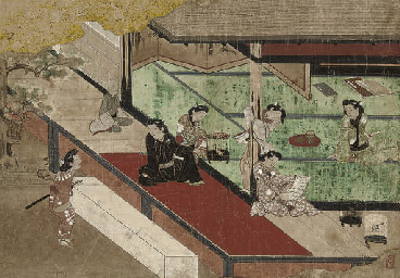 A KAKEMONO, ANONYMOUS, 17TH CENTURY