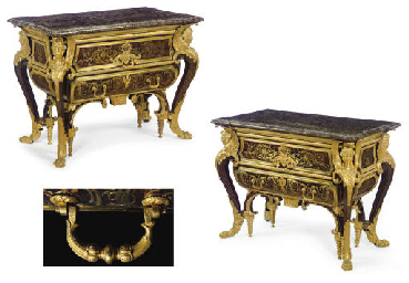 A PAIR OF FINE LOUIS XIV STYLE