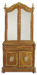 A NAPOLEON III ORMOLU- AND SEV