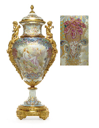 AN ORMOLU-MOUNTED SÈVRES STYLE
