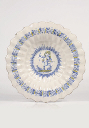 A Dutch Delft or Haarlem gadro