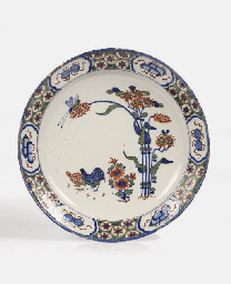 A Dutch Delft polychrome Kakie