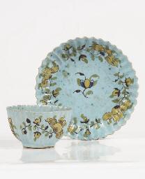 A Dutch Delft 'fond turquoise'