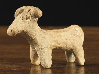 A Syrian terracotta ram