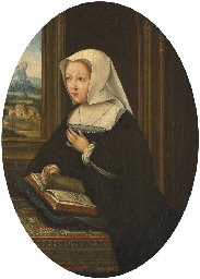 Portrait of Margaret of Austri