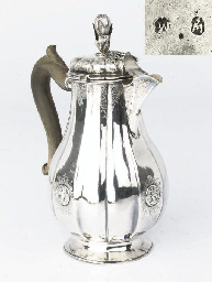 A German silver coffeepot