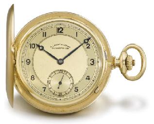 A. Lange & Söhne. A 14K gold h