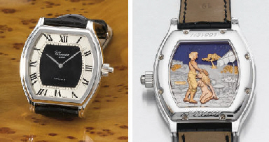 Chopard. A very fine and uniqu