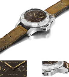 Panerai. An extremely rare and