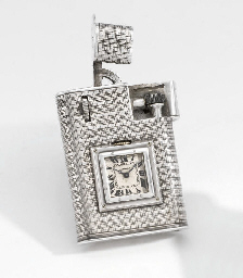 Cartier. An unusual silver lig