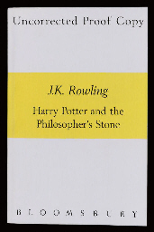 ROWLING, J. K.  Harry Potter a