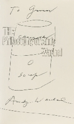 WARHOL, Andy (1928-87).  The P
