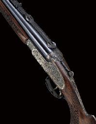 A .375 H&H MAGNUM DOUBLE-BARRE