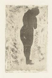 Standing Nude (B. 8)