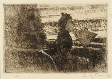 Lady in Black, in a Loge, Faci