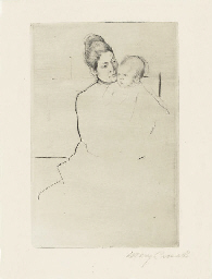 Gardner Held by His Mother (B.