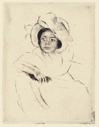 Margot Wearing a Bonnet (No. 4
