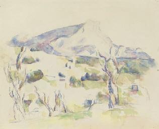 La Montagne Sainte-Victoire vu