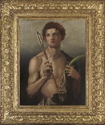 Saint Sebastian with an arrow