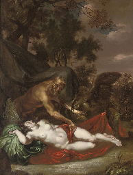Antiope surprised by Jupiter