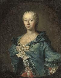 Portrait of Adrienne Lecouvreu