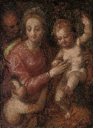 The Holy Family with the Young