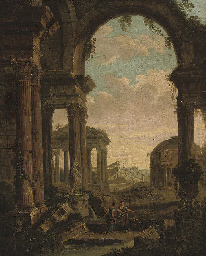 An architectural capriccio wit