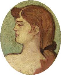 Portrait de femme de la maison