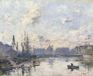 Le Havre, le bassin du commerc