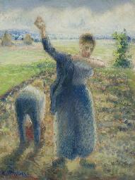 Les travailleurs aux champs